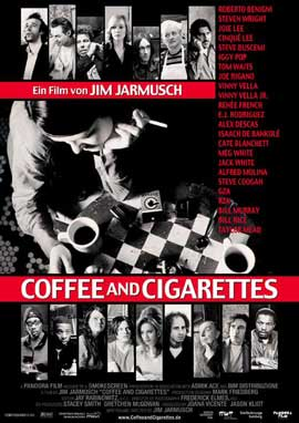 Coffee and Cigarettes - 11 x 17 Movie Poster - German Style A