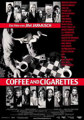 Coffee and Cigarettes - 27 x 40 Movie Poster - German Style A