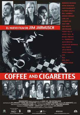 Coffee and Cigarettes - 11 x 17 Movie Poster - Spanish Style A