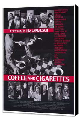 Coffee and Cigarettes - 27 x 40 Movie Poster - Style A - Museum Wrapped Canvas