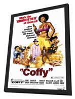 Coffy - 11 x 17 Movie Poster - Style A - in Deluxe Wood Frame