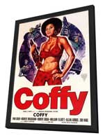 Coffy - 11 x 17 Movie Poster - Style C - in Deluxe Wood Frame