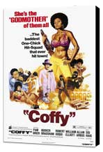 Coffy - 11 x 17 Movie Poster - Style A - Museum Wrapped Canvas