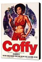 Coffy - 11 x 17 Movie Poster - Style C - Museum Wrapped Canvas