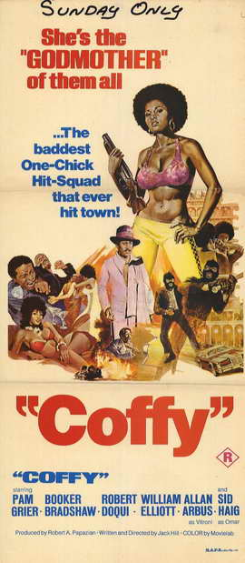 Coffy - 11 x 17 Movie Poster - Style B