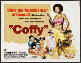 Coffy - 22 x 28 Movie Poster - Half Sheet Style B