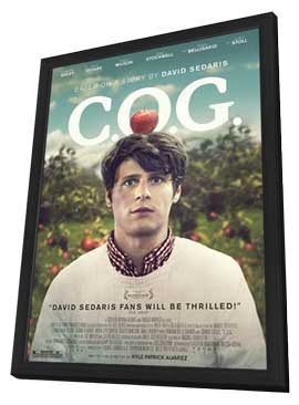 C.O.G. - 11 x 17 Movie Poster - Style B - in Deluxe Wood Frame