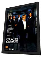 Cold Case - 11 x 17 TV Poster - Style B - in Deluxe Wood Frame