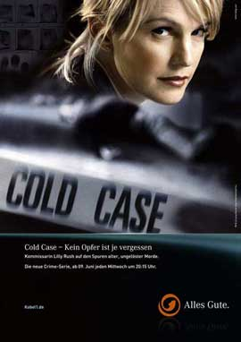 Cold Case - 11 x 17 TV Poster - Germany Style A