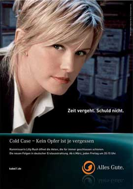 Cold Case - 11 x 17 TV Poster - German Style B