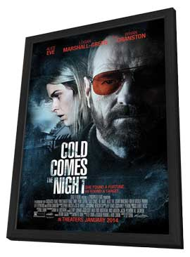 Cold Comes the Night - 27 x 40 Movie Poster - Style A - in Deluxe Wood Frame