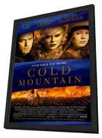 Cold Mountain - 11 x 17 Movie Poster - Style A - in Deluxe Wood Frame