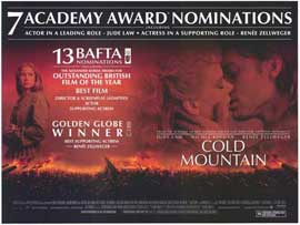 Cold Mountain - 11 x 17 Movie Poster - Style B