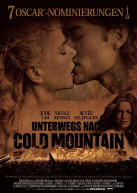 Cold Mountain - 27 x 40 Movie Poster - German Style A