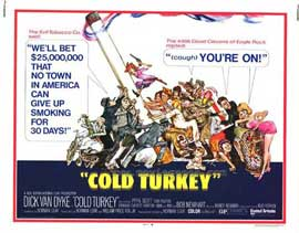 Cold Turkey - 11 x 14 Movie Poster - Style A