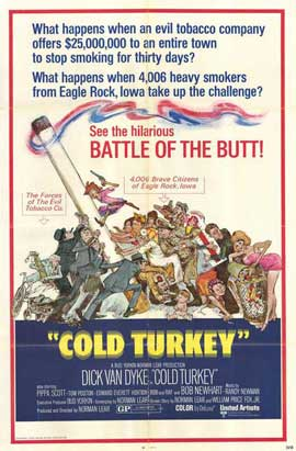 Cold Turkey - 27 x 40 Movie Poster - Style B