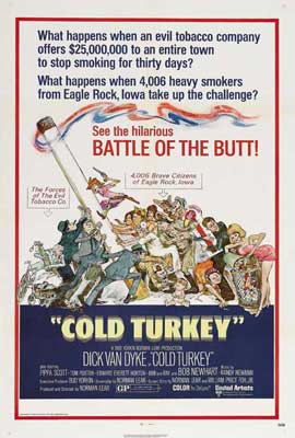 Cold Turkey - 11 x 17 Movie Poster - Style C