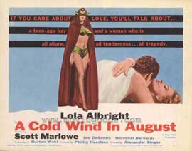 Cold Wind In August - 11 x 14 Movie Poster - Style B