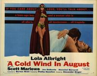 Cold Wind In August - 27 x 40 Movie Poster - Style A