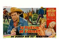 Cole Younger, Gunfighter - 11 x 17 Movie Poster - Belgian Style A