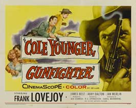 Cole Younger, Gunfighter - 11 x 14 Movie Poster - Style A