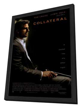 Collateral - 27 x 40 Movie Poster - Style A - in Deluxe Wood Frame
