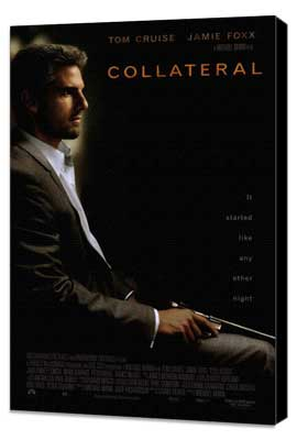 Collateral - 27 x 40 Movie Poster - Style A - Museum Wrapped Canvas