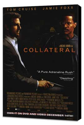 Collateral - 27 x 40 Movie Poster - Style C - Museum Wrapped Canvas