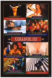 College 101 - Party/College Poster - 24 x 36 - Style A