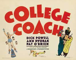 College Coach - 11 x 17 Movie Poster - Style A