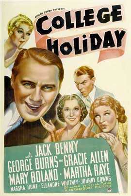 College Holiday - 11 x 17 Movie Poster - Style A