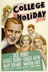College Holiday - 27 x 40 Movie Poster - Style A