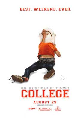 College - 11 x 17 Movie Poster - Style A