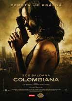 Colombiana - 11 x 17 Movie Poster - Czchecoslovakian Style A