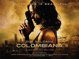 Colombiana - 11 x 17 Movie Poster - UK Style A