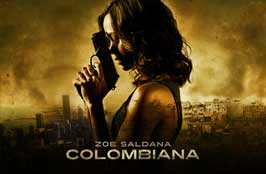 Colombiana - 43 x 62 Movie Poster - Bus Shelter Style B