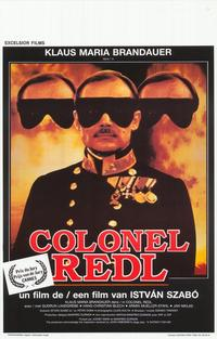 Colonel Redl - 11 x 17 Movie Poster - Belgian Style A