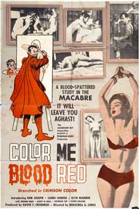 Color Me Red - 11 x 17 Movie Poster - Style A