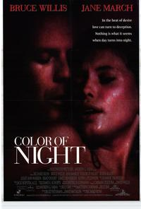 Color of Night - 11 x 17 Movie Poster - Style A