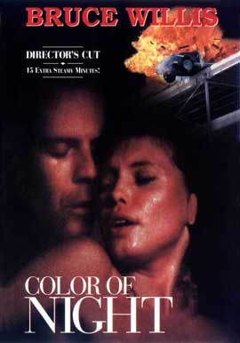 Color of Night - 11 x 17 Movie Poster - Style C