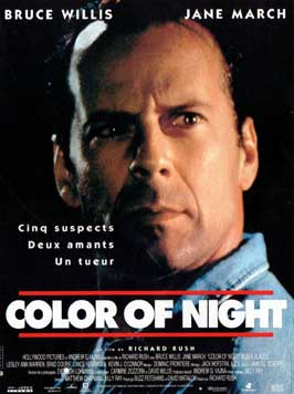 Color of Night - 11 x 17 Movie Poster - French Style A