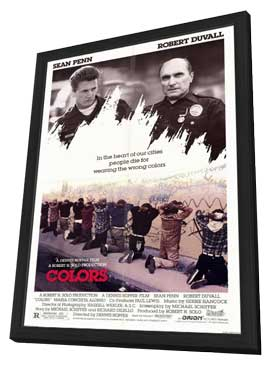 Colors - 11 x 17 Movie Poster - Style A - in Deluxe Wood Frame
