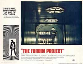 Colossus: The Forbin Project - 11 x 14 Movie Poster - Style D