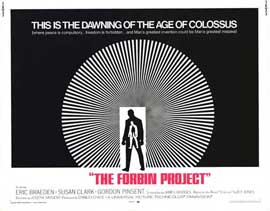 Colossus: The Forbin Project - 11 x 14 Movie Poster - Style A