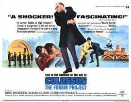 Colossus: The Forbin Project - 11 x 14 Movie Poster - Style C
