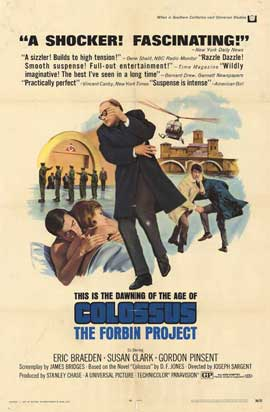 Colossus: The Forbin Project - 11 x 17 Movie Poster - Style A
