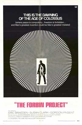 Colossus: The Forbin Project - 11 x 17 Movie Poster - Style B