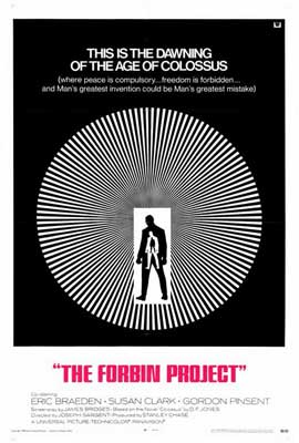 Colossus: The Forbin Project - 27 x 40 Movie Poster - Style B