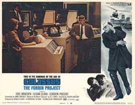 Colossus: The Forbin Project - 11 x 14 Movie Poster - Style J
