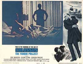 Colossus: The Forbin Project - 11 x 14 Movie Poster - Style L